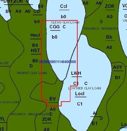 Lot 9 Con 3 Glackmeyer soil
