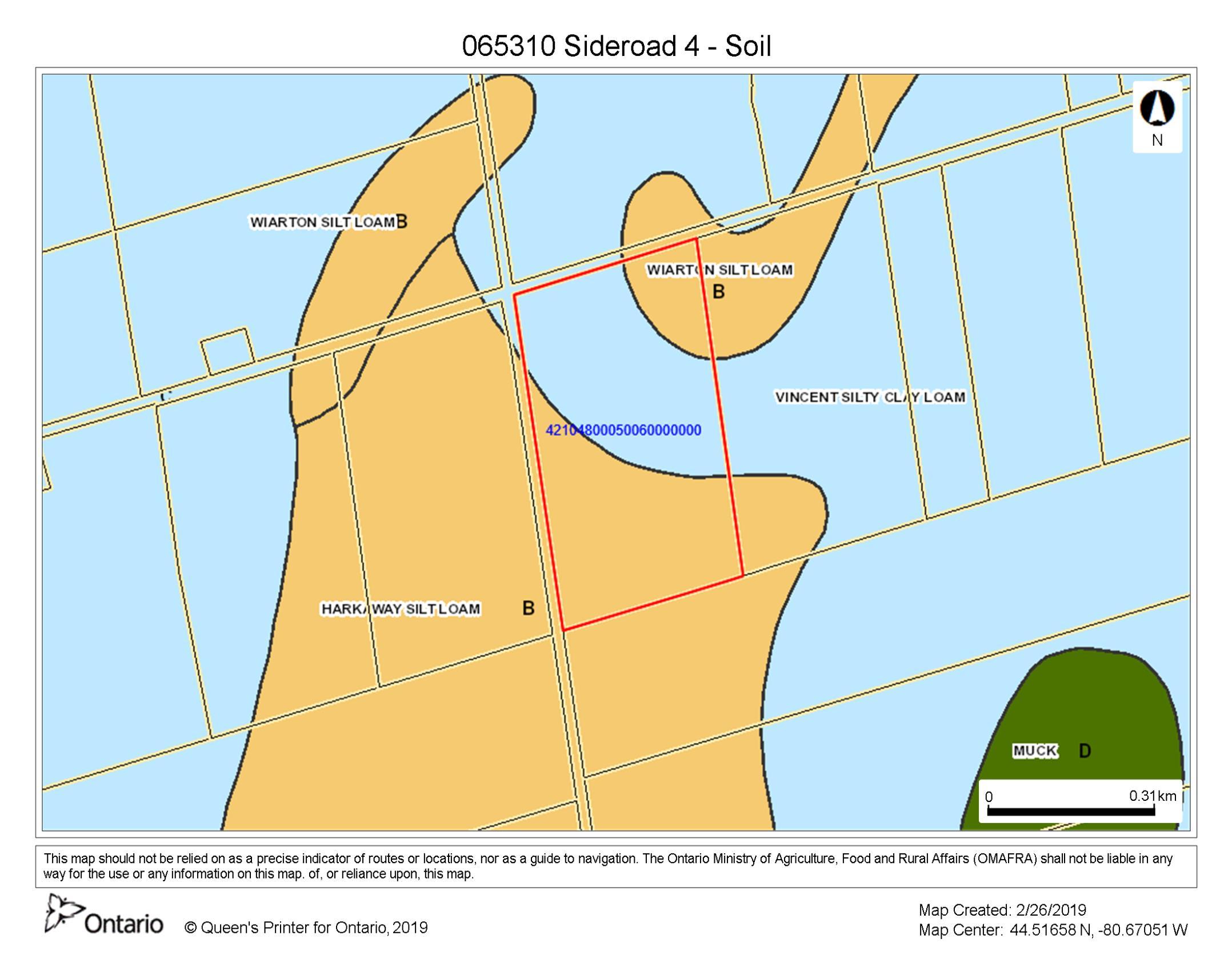 065310 Sideroad 4 - Soil